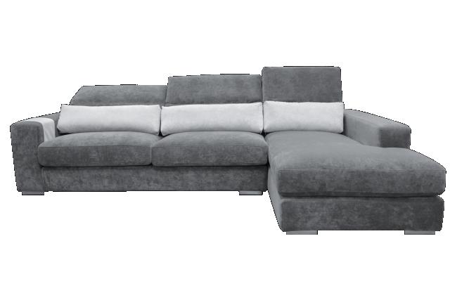 608以色列絲柔雲彩貓抓布L型沙發